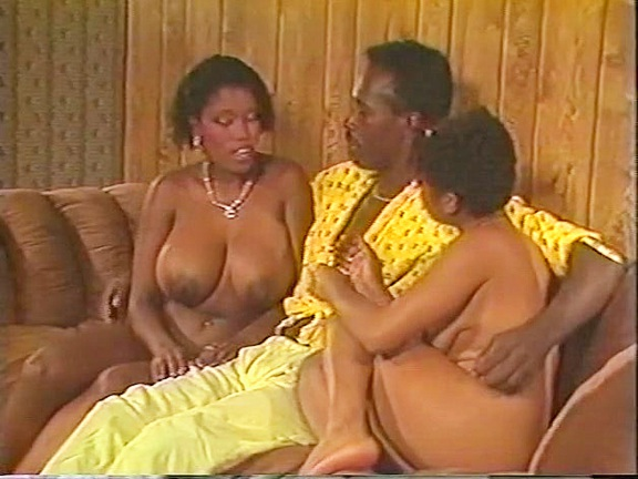 Black Chicks In Heat - classic porn film - year - 1988