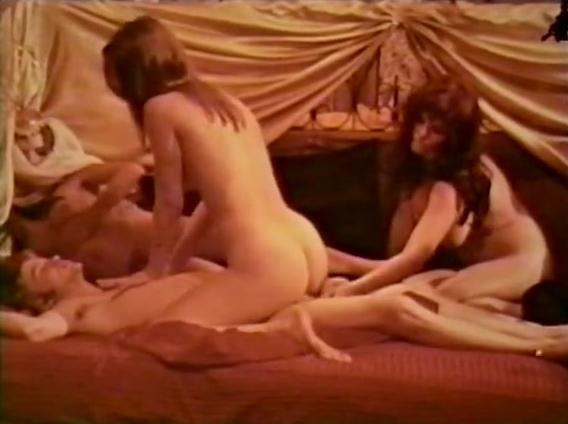 The Swinging Genie - classic porn movie - 1974