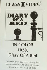 Diary Of A Bed - classic porn movie - 1972
