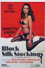 Black Silk Stockings - classic porn film - year - 1978
