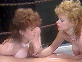 Busty Wrestling Babes - classic porn movie - 1986