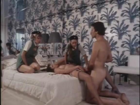Nie allein Schlaf - classic porn movie - 1983