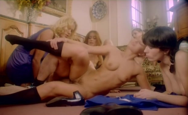 French Sex Lessons - classic porn movie - 1980