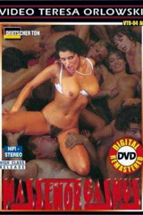 Massenorgasmus - classic porn movie - 1995