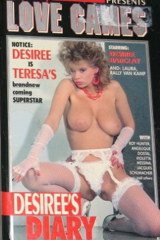 Love Games Desirees Diary - classic porn film - year - 1987