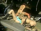 Junkyard Dykes - classic porn movie - 1994