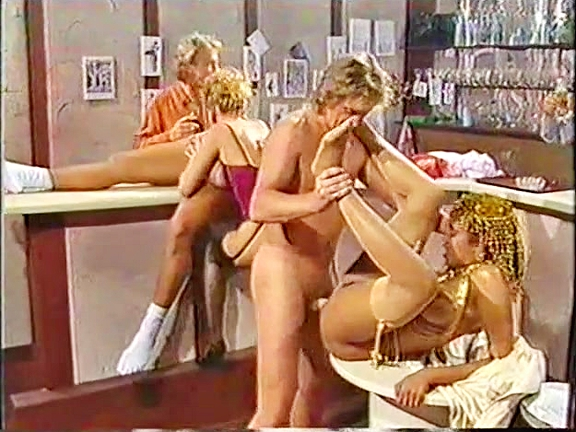 Desiree At Hardcore Cafe - classic porn film - year - 1987