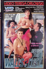 Behind The Walls Of Lust - classic porn film - year - 1989
