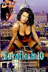 Rocco's Euroflesh 10 - Rome After Dark - classic porn film - year - 1992