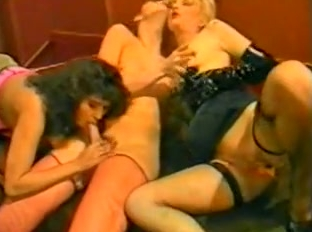 Wet Rubber Games - classic porn movie - 1990
