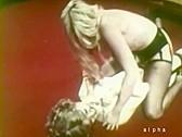 Candys Big Tit Wrestling - classic porn movie - 1978