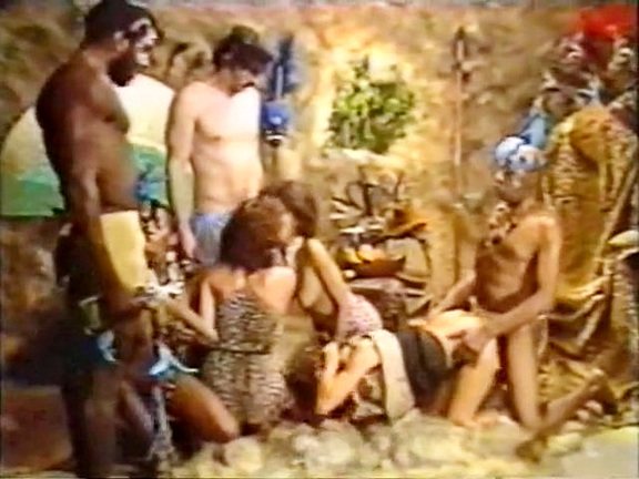Indiana Joan in the Black Hole of Mammoo - classic porn film - year - 1984