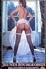 Jeunes bourgeoises branchées sodomie - classic porn movie - 1984