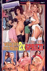 Wenn Der Postman 2x Spritzt - classic porn movie - 1991