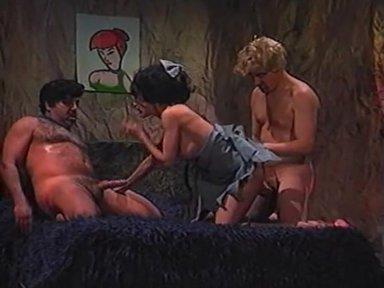 Flintbones - classic porn movie - 1992