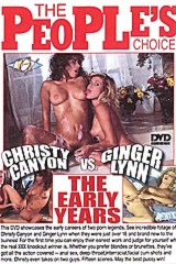 Christy Canyon vs Ginger Lynn: the Early Years - classic porn movie - 1993